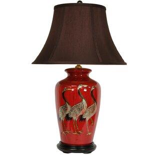 Crowned Cranes Vase 26