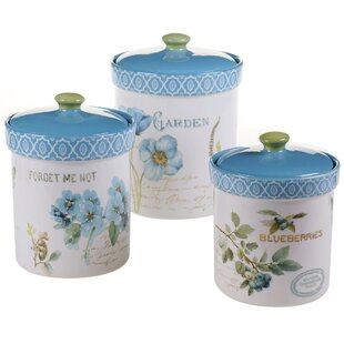 Cornell 3-Piece Kitchen Canister Set