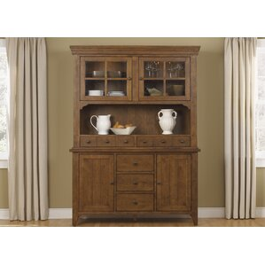 Methuen Lighted China Cabinet by Loon Peak