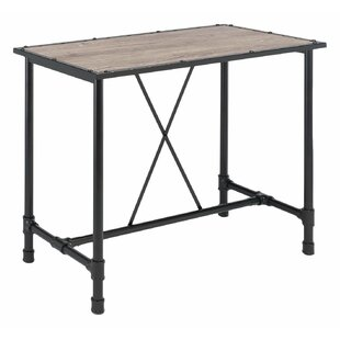 Best Reviews Crofts Industrial Pub Table By 17 Stories