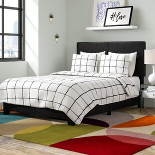 Compare prices Pichardo Upholstered Panel Bed by Ebern Designs Reviews (2019) & Buyer's Guide