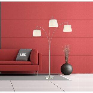 Best Reviews Palumbo 84 LED Arched Floor Lamp By Orren Ellis