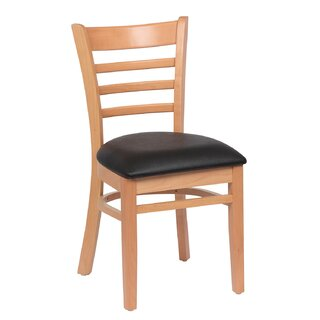 Ladder Back Wood Upholstered Dining Chair (Set of 2) by RoyalIndustries,Inc. SKU:EE571015 Purchase