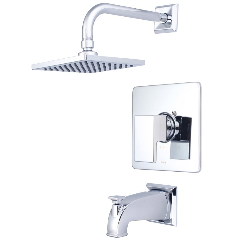 Pioneer Mod Single Handle Volume Control Tub And Shower Faucet Reviews Wayfair
