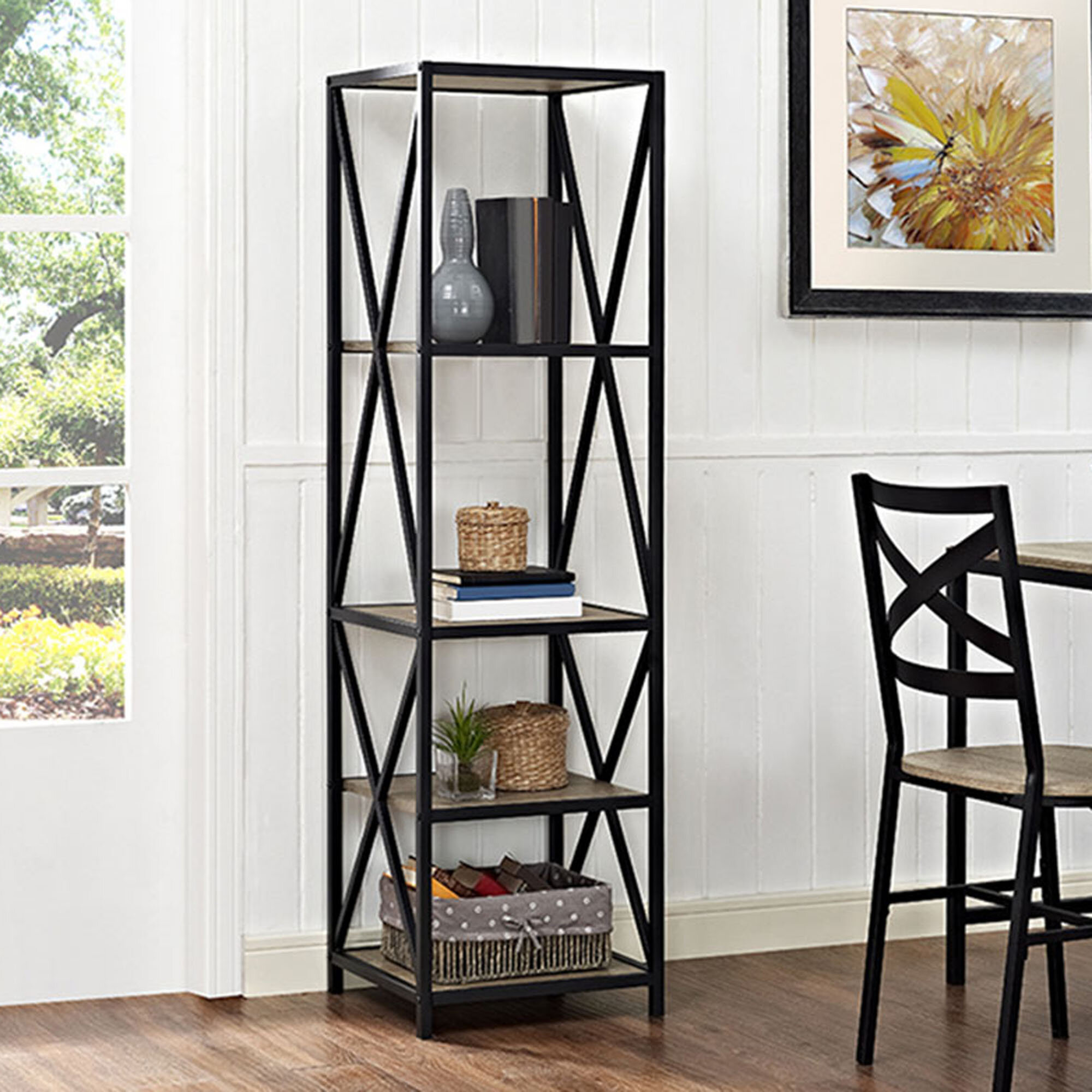 Trent Austin Design Augustus X-Frame Etagere Bookcase & Reviews ...