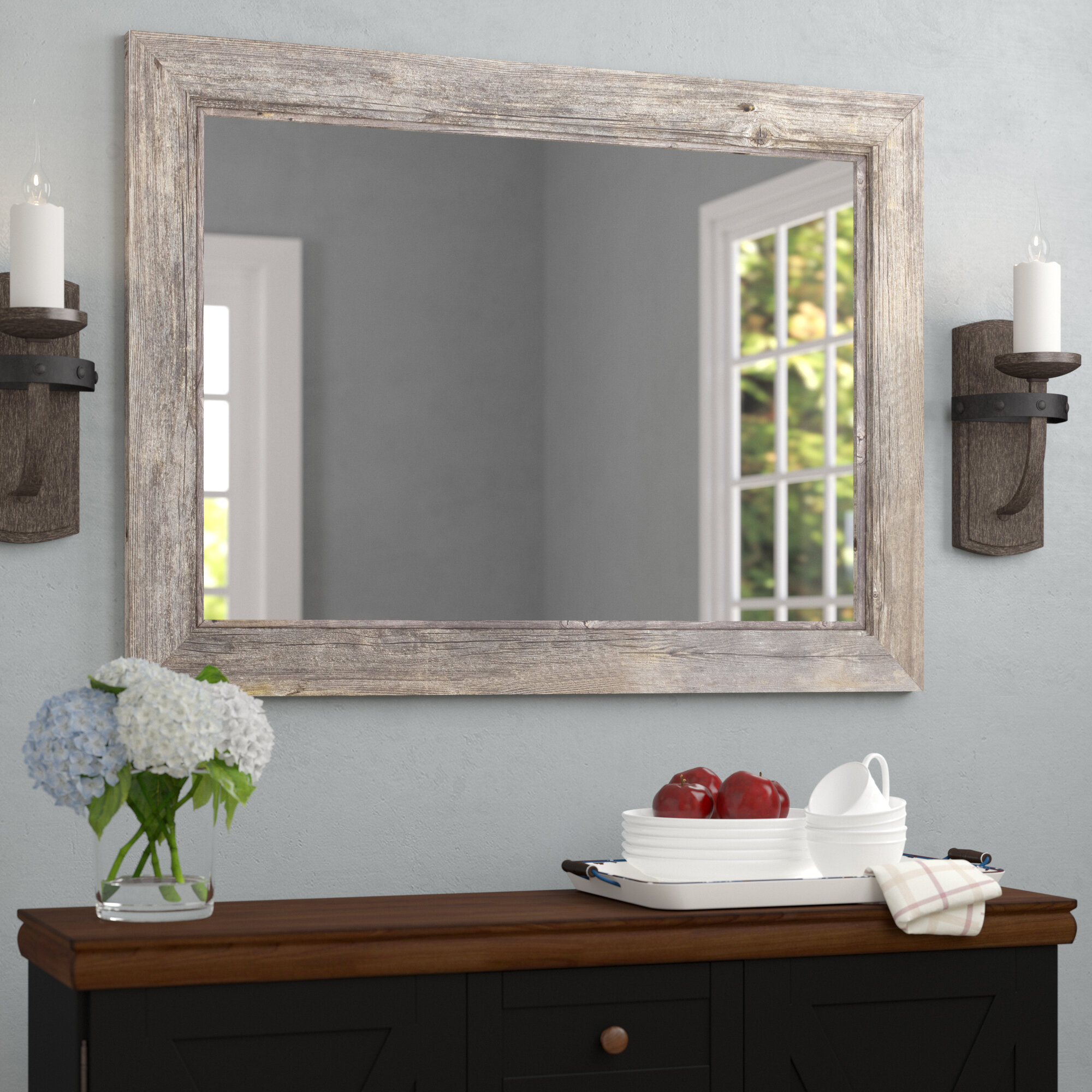August Grove Coastal Bathroom Mirror U0026 Reviews | Wayfair