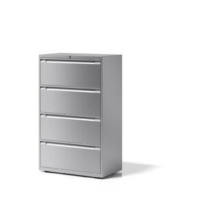 Essentials 4 Drawer Filing Cabinet By Bisley