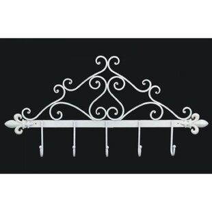 England Wall Mounted Coat Rack By Fleur De Lis Living