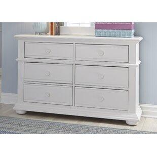 Dickens 6 Drawer Double Dresser