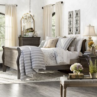 Collin Sleigh Bed by Darby Home Co
