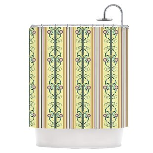 Blooming Trellis Single Shower Curtain