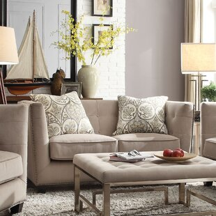 Price comparison Ferguson Loveseat by Brayden Studio Reviews (2019) & Buyer's Guide