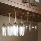 Winn Hanging Wine Glass Rack by Rebrilliant