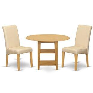 Jaelyn Small Table 3 Piece Drop Leaf Brea..