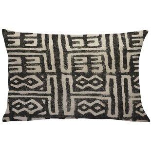 Caitlin Mud Cloth Linen Throw Pillow
