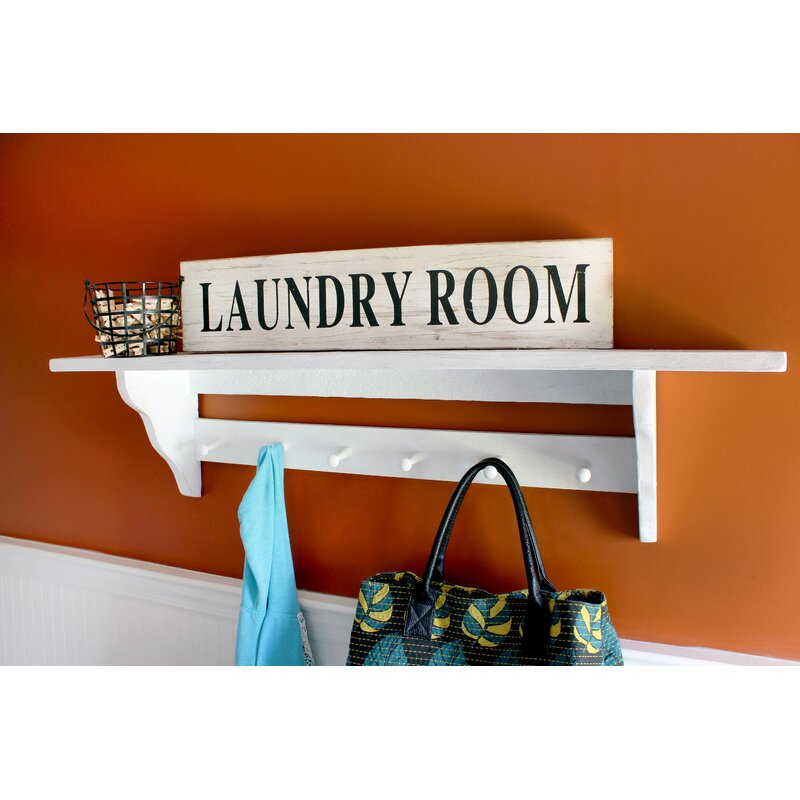 Wooden Laundry Room Sign Wall Décor