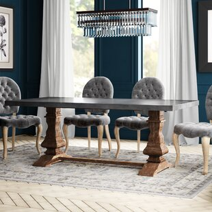 Greyleigh West Orange Dining Table