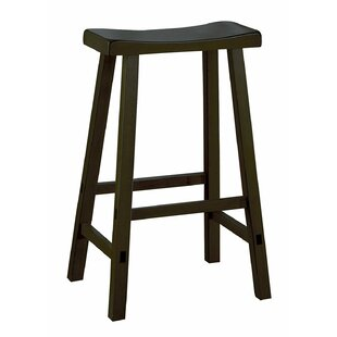 Kyle Wooden 29 Bar Stool (Set of 2) by Winston Porter