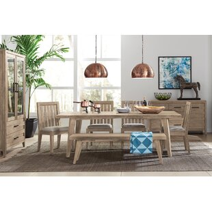 Brooklawn Wood Bench by Gracie Oaks