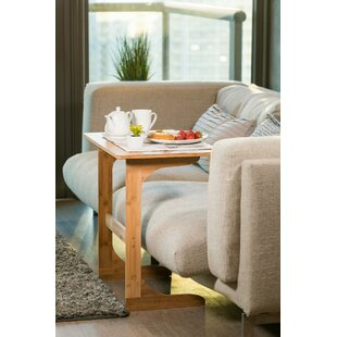Hodge Bamboo End Table by Ebern Designs