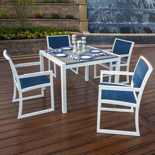 Trex Outdoor Parsons 5 Piece Dining Set