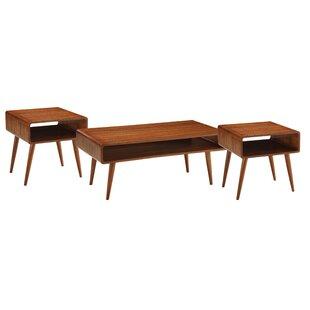 Boraam Industries Inc Dansk 3 Piece Coffee Table Set