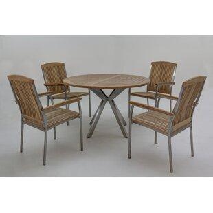 Mascarenas 4 Seater Dining Set By Ebern Designs