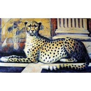 Cheetah Doormat