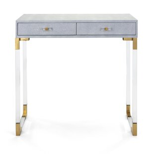 Connors Misty Shagreen Console Table
