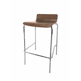 Rickia Café Height Industrial Stool (Set of 4)