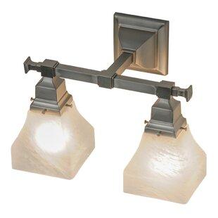 Low priced Bungalow Swirl 2-Light Vanity Light By Meyda Tiffany