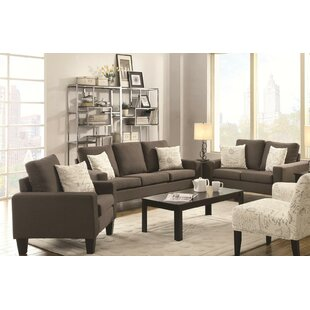 Find the perfect Creasey 3 Piece Living Room Set by Red Barrel Studio Reviews (2019) & Buyer's Guide