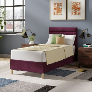 Premium Beaumere Upholstered Bed Frame By Mercury Row