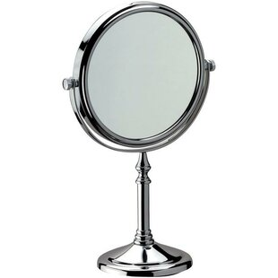 Houtz Double-Sided Adjustable Makeup/Shaving Mirror ByCharlton Home