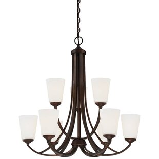 Mildred 9 Light Chandelier by Andover Mills