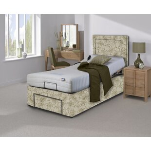 Verity Upholstered Adjustable Bed With Mattress By Symple Stuff