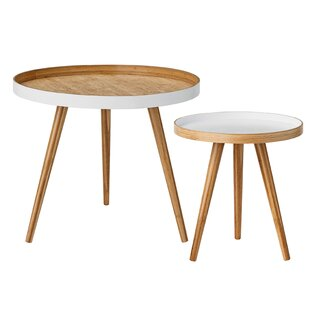 Beveridge 2 Piece End Table Set by Langley Street