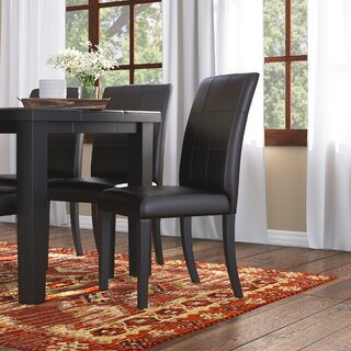 Aldama Upholstered Dining Chair (Set of 2) by Loon Peak SKU:BA202601 Purchase
