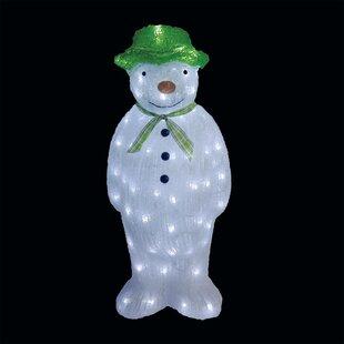 Adira Acrylic Snowman Oversized Figurine By The Seasonal Aisle