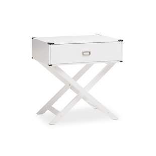 Ickenham Modern 1 Drawer Nightstand by Ivy Bronx