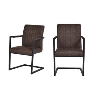 Rumble Upholstered Dining Chair (Set of 2) Williston Forge