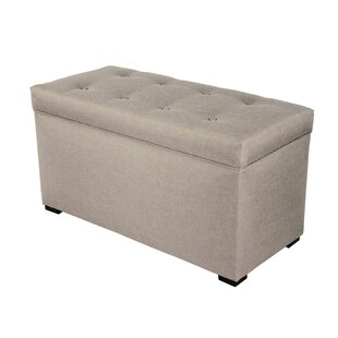 Alcott Hill Woodside Buttons Tufted Upholstered Storage Bench