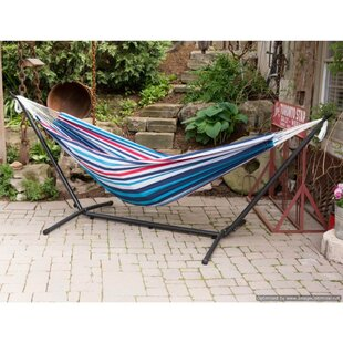 Chickerell Double Tree Hammock With Stand by Freeport Park 2019 Coupon