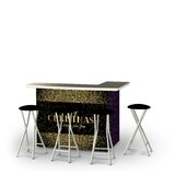 Wunibald Christmas New Year Confetti 5-Piece Bar Set