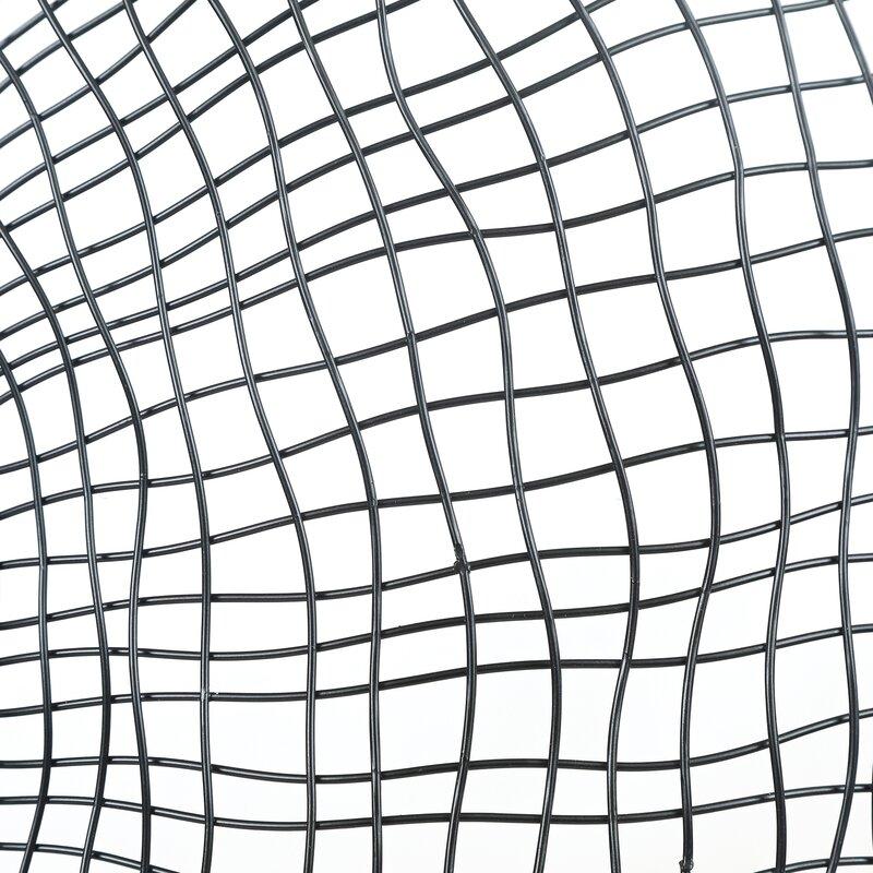 17 Stories Dalia Metal Wire Frame Electric Wall Mirror