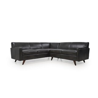 Ari Symmetrical Leather Sectional by Corrigan Studio SKU:EA985598 Check Price