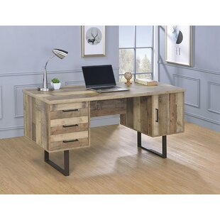 Online Reviews Benner Executive Desk By Foundry Select