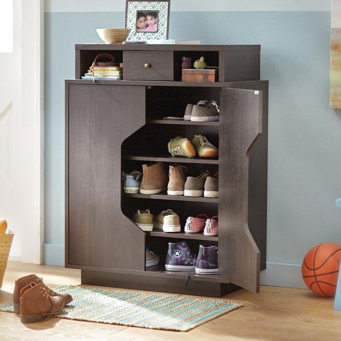 Superb Redland Redline 20 Pair Shoe Storage Cabinet