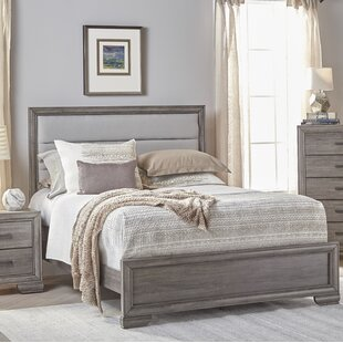 Chicora Upholstered Panel Bed by Ophelia & Co.