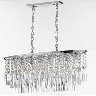 Crystal Rain Drop Chandelier Wayfair - Chandelier raindrop crystals